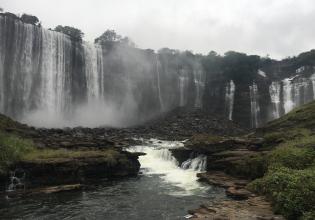 Calandula Waterfalls & Black Stones