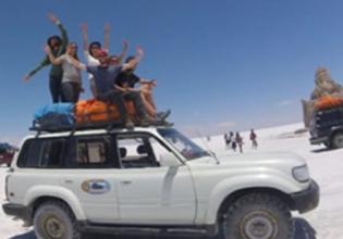 1 Full Day Tour Sky Reflects – Uyuni Salt Flats in raining season