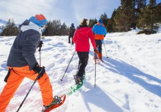 Snow Shoeing in Grandvalira
