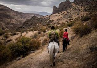1-Day Horseback Riding Tour to Gomk Village and Lake Kapuyt
