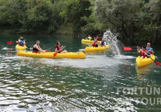 Canoe Safari on the river Trebižat