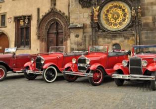 Prague Tours by Vintage Cars