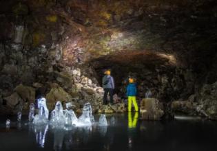 Lofthellir Ice Cave Tour from Lake Mývatn