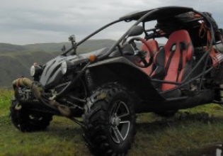 Buggy and ATV rides in Assy Plateau