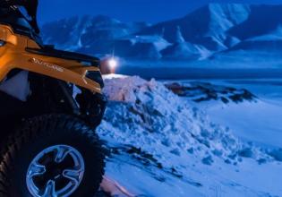 ATV Safari in The Polar Night - Svalbard Adventures
