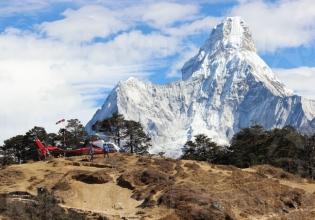 Everest  Base camp Helicopter Landing Tour